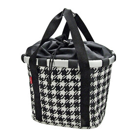 KlickFix Reisenthel Bikebasket fifties-black